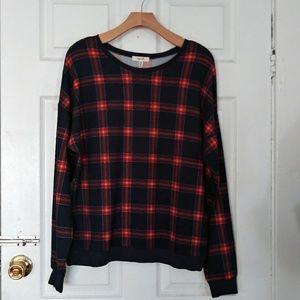 flannel women's sweater